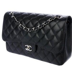 4e1a08d3e4fe Women Chanel Jumbo Black Caviar on Poshmark